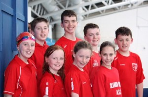 Sliabh Beagh Swimmers Attend Trojan Gala