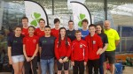 Sliabh Beagh swimmers at the Irish Age Group Championships  in the National Aquatic Centre last weekend.