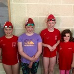 Our  Junior Girls all had GREAT PB's