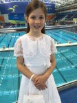 Georgina had an extra SPECIAL BUSY day as she made her First Communion in the morning then it was a quick dash to Dublin to compete in U10 Freestyle!!!!