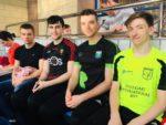 Sliabh Beagh senior boys at the qualifying gala in Lisburn