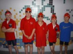 Our young swimmers who will be attending the minor school championship this weekend in Galway