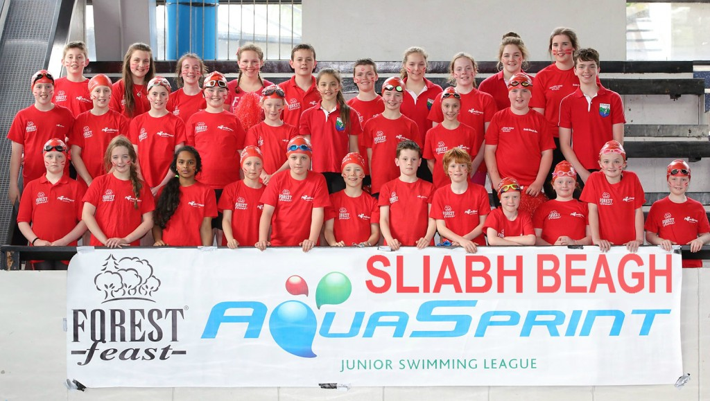 Winning Sliabh Beagh AquaSprint Team