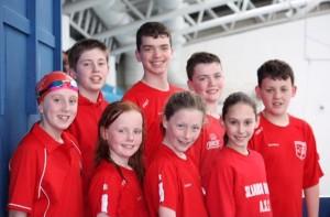Sliabh Beagh Swimmers Attend Trojan Gala