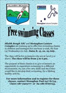 free swimming