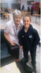 Our Coach Ita had the pleasure of meeting British Paralympian Ellie Simmonds