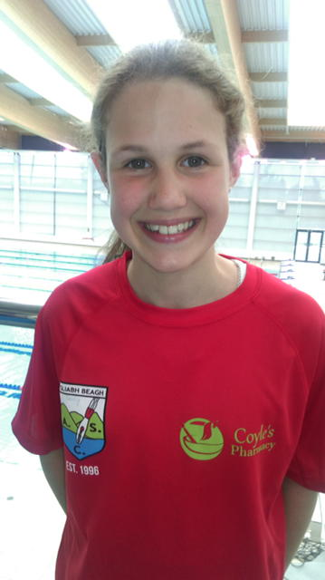 Darcy attended her first Swim Ulster Summer Qualifying Gala in Bangor